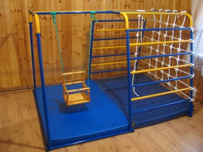 ДСКГородок малыш 4 детский спортивный комплекс для дома