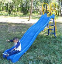 Горка детская волновая для дачи Веселый Непоседа длина желоба горки 3 метра