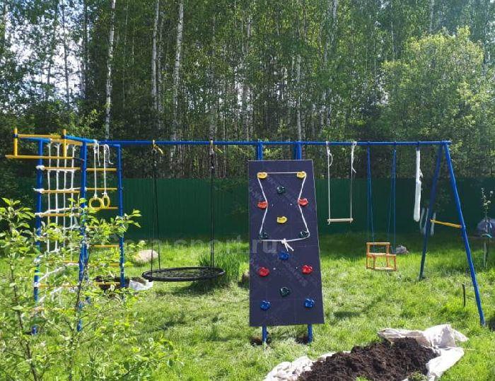 Детский спортивный комплекс ГОРОДОК дачный 16 ПЛЮС (качели- гнездо 100 см)