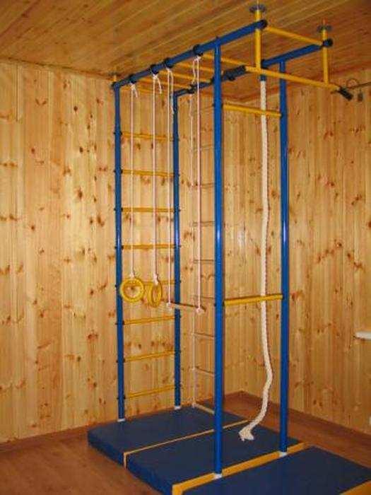 ДСК Городок 4-опорный детский спортивный комплекс