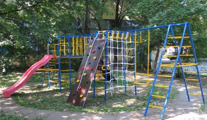 Дачный комплекс Городок №15 уличный спортивный комплекс