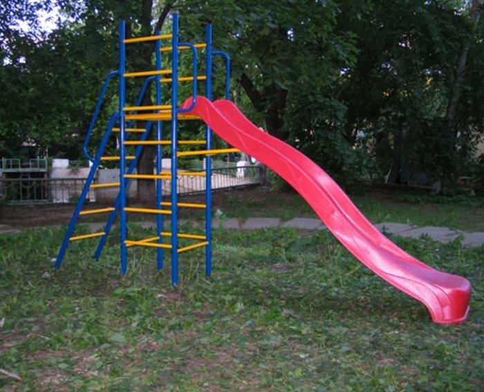 ДСК Городок Горка Дачная уличный спортивный комплекс