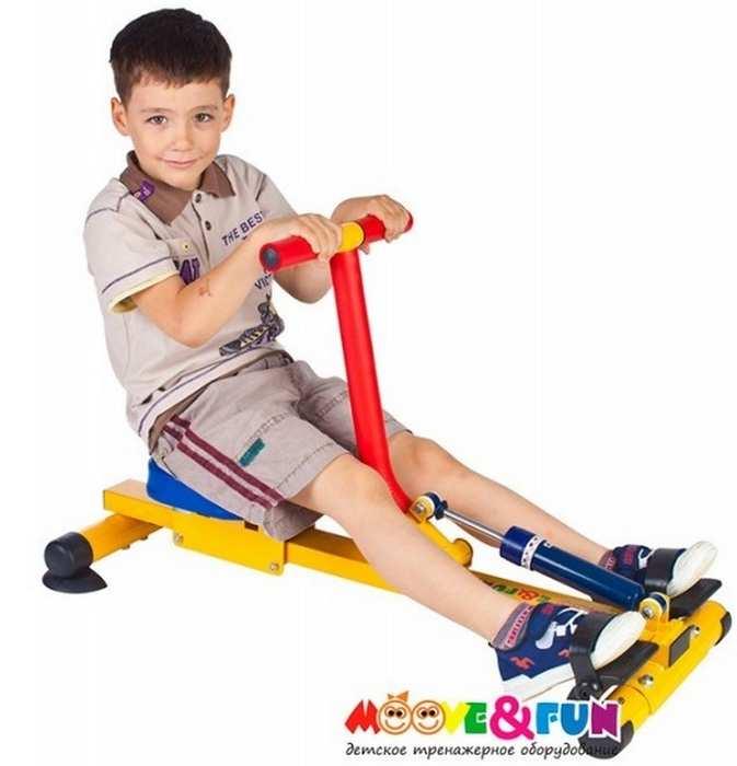 Детский гребной тренажер Moove Fun TFK-04-A/SH-04-A