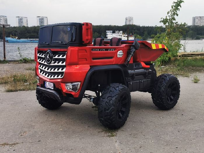 Детский электромобиль Грузовик YAP 9984 4х4 на резиновых колесах
