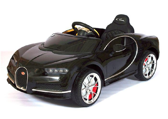 Детский электромобиль Bugatti Chiron HL318 на резиновых колесах