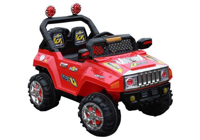 Электромобиль джип детский HUMMER E 444 KX