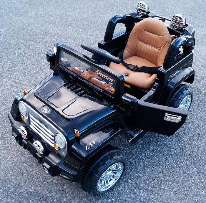 Детский электромобиль Kids Cars J 245 с мягким сиденьем и резиновым колесами