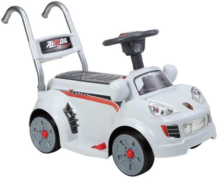 Детский электромобиль-ходунки на аккумуляторе Porsche B26R с пультом от 1 года Joy Automatic