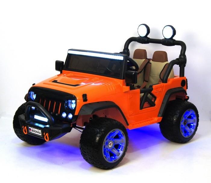 Jeep A 004 AA детский электромобиль с дистанционным управлением Двухместный