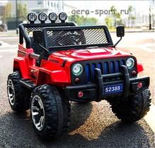 М 777 ММ. Детский электромобиль Джип Jeep M777MM двухместный