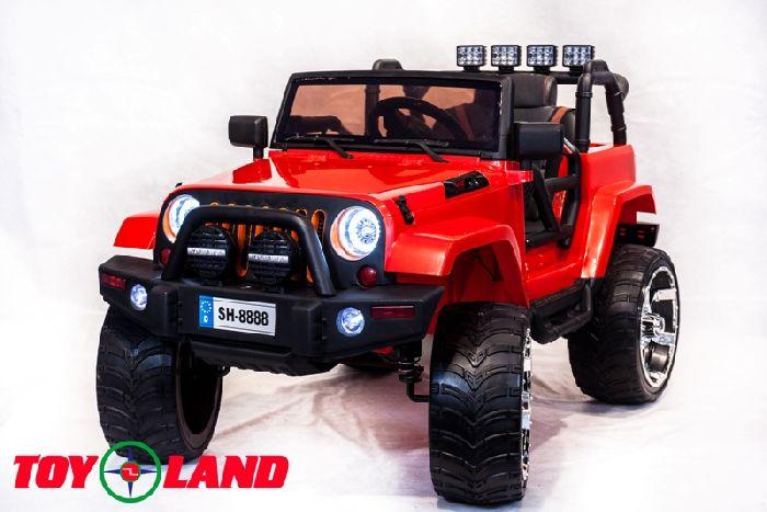 Детский полноприводный автомобиль Jeep SH 888 4Х4 на резиновых колесах