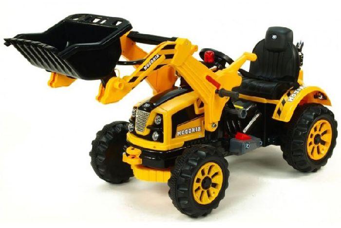 Детский электромобиль-трактор с ковшом Jiajia JS328A