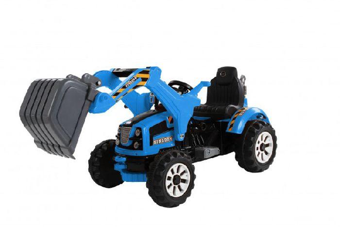 Детский электромобиль-трактор с ковшом Jiajia JS328B