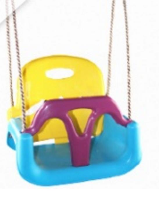 Качели детские пластиковые 3в1