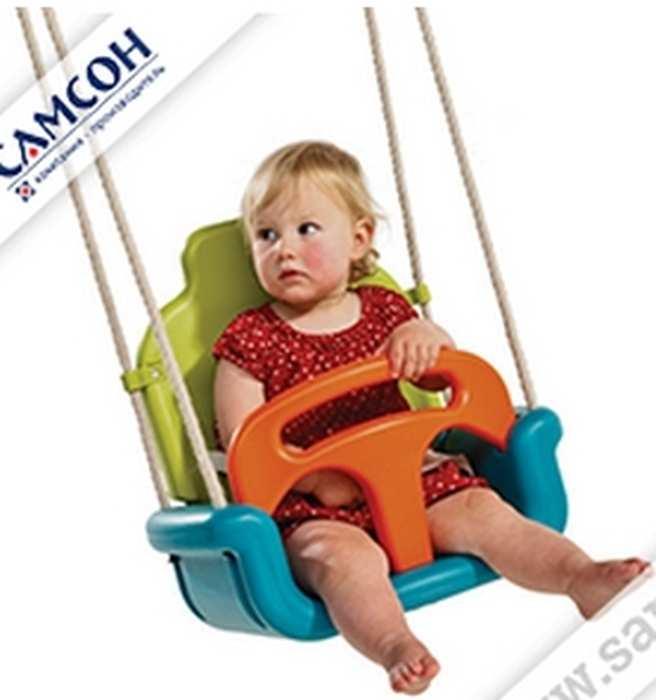 """Качели-кресло """"3 в 1"""" (КБТ). Качели с ремнем безопасности"""