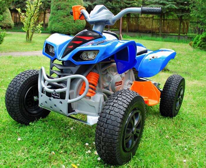 QUAD KL-789 детский квадроцикл на резиновых колесах до 7 км/ч