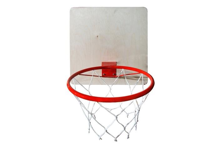 Кольцо баскетбольное большое со щитом