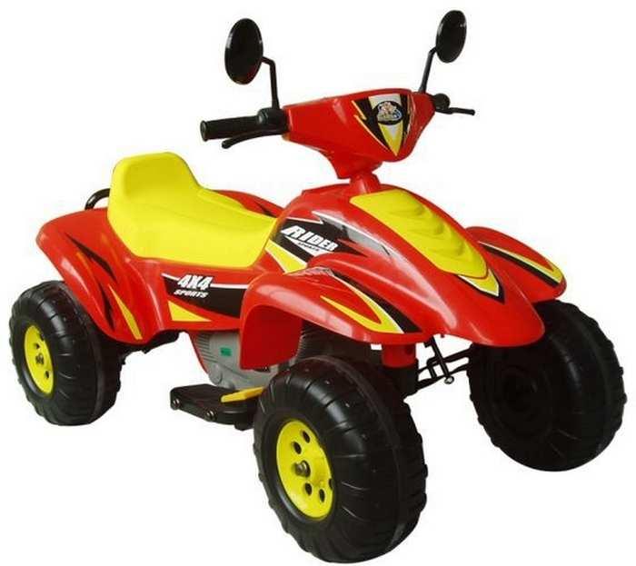 Beach Racer CT-558 детский квадроцикл до 7 км/ч редуктор 70W