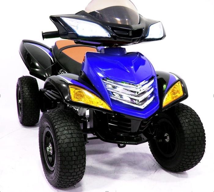Е005КХ-А. Детский квадроцикл Е 005 КХ-А на резиновых надувных колесах