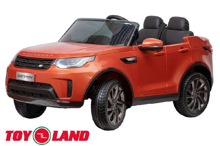 Land Rover Discovery детский электромобиль на резиновых колесах