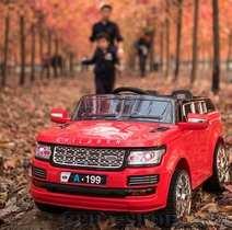 Land Rover Discovery А-199 детский электромобиль на резиновых колесах