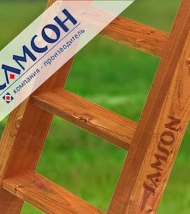 Деревянная лестница с деревянными ступенями. Дополнительная комплектация для ДИП