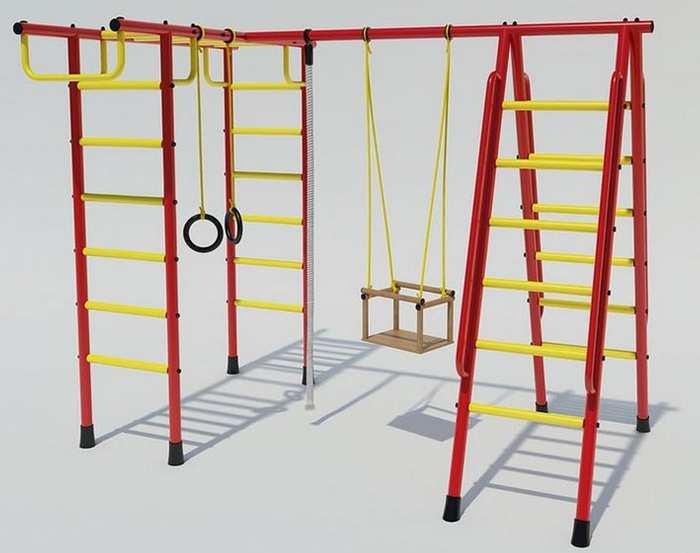 ДСК Лидер-Д1 детский спортивный комплекс для дачи