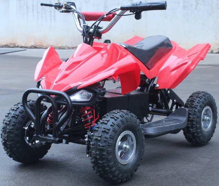 LME ATV-500C детский квадроцикл до 24 км/ч редуктор 500 W