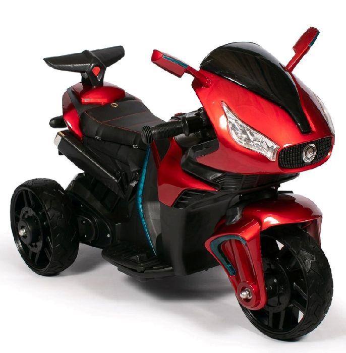 Детский мотоцикл Barty M777AA на резиновых колесах
