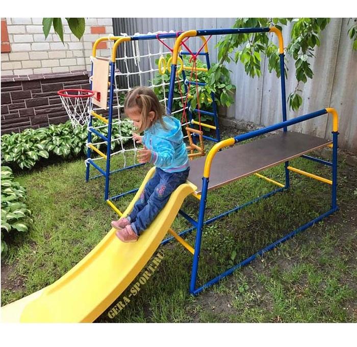 Детский спортивный комплекс для улицы ДСК Городок Малыш 5