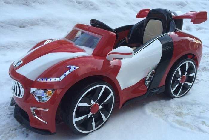 Детский электромобиль Maserati A 222 AA резиновые колеса