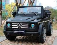 Mercedes Benz G-55 amg VIP матовое покрытие детский электромобиль на резиновых колесах
