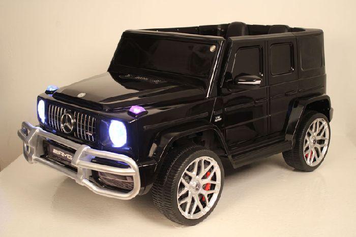 Детский полноприводный двухместный электромобиль Mercedes-AMG G63 4WD (S307)
