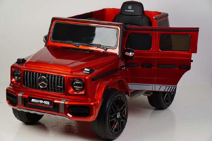 Детский полноприводный электромобиль Mercedes-AMG G63 4WD K999KK с дистанционным управлением