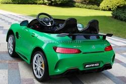MERCEDES-BENZ-AMG-GTR-HL289 лицензионный детский электромобиль. Двухместный