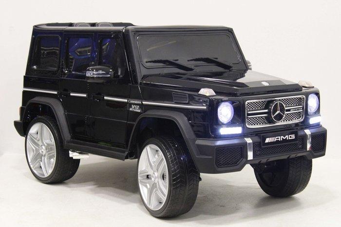 Детский электромобиль Mercedes-Benz-G65-AMG 4WD (ЛИЦЕНЗИЯ)  с дистанционным управлением Полноприводный