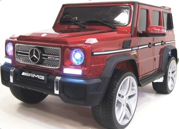 Mercedes-Benz G65 детский электромобиль джип с дверками