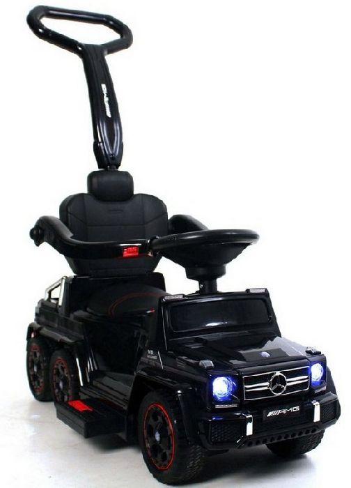 Детский электромобиль-каталка на шести резиновых колесах Mercedes-Benz A010AA-H