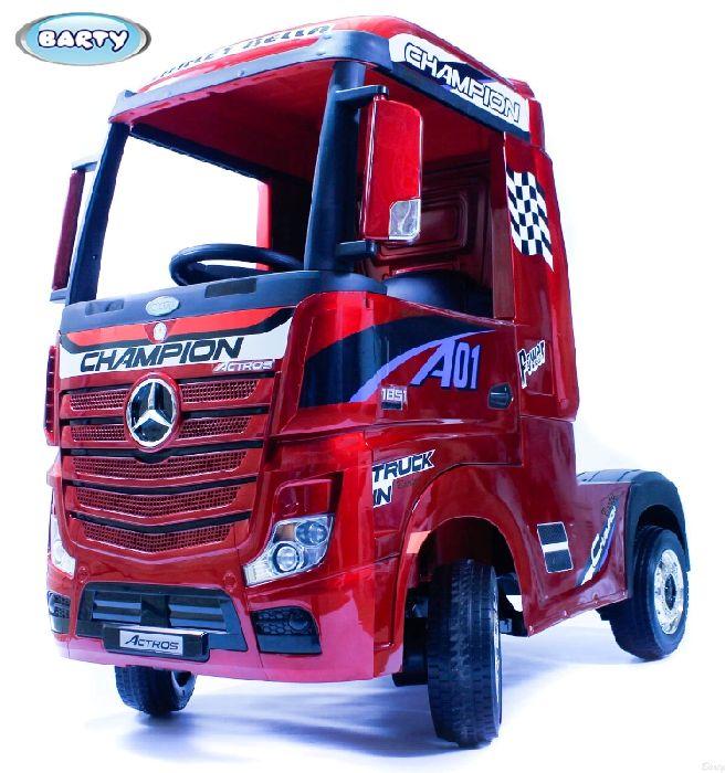 Детский электромобиль Mercedes-Benz Actros HL358 на резиновых колесах
