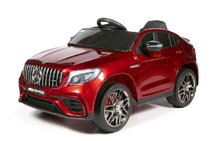 Детский электромобиль Mercedes-Benz AMG GLC63 Coupe S QLS-5688(Лицензия) 4X4 на резиновых колесах