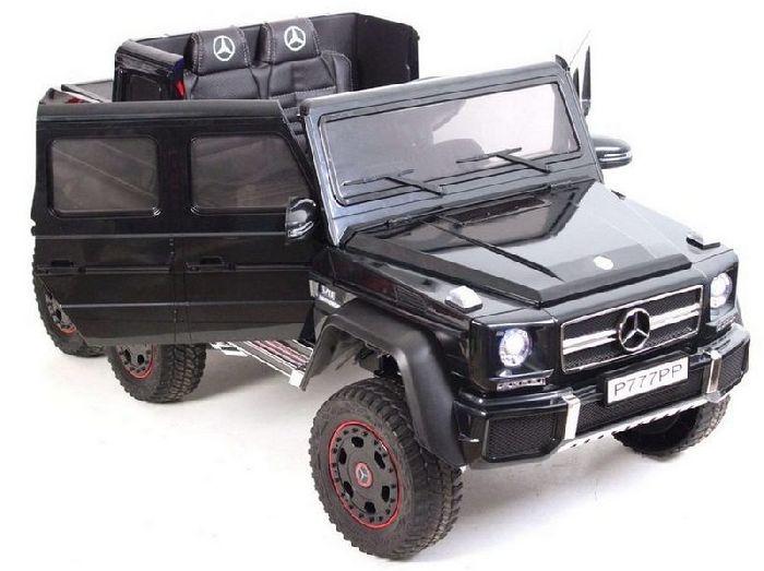 Детский полноприводный электромобиль на шести колесах Mercedes-Benz G63 AMG 4WD P777PP