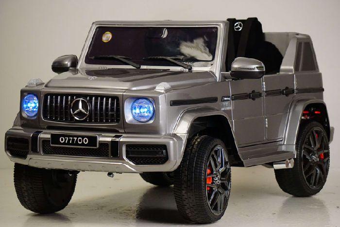 Mercedes-Benz G63 O777OO (ЛИЦЕНЗИОННАЯ МОДЕЛЬ) на резиновых колесах
