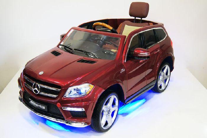 Детский электромобиль Mercedes-Benz GL63 A999AA (4*4) на резиновых колесах