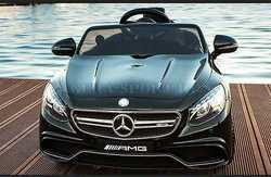 Детский электромобиль Mercedes-Benz S63 AMG детский автомобиль