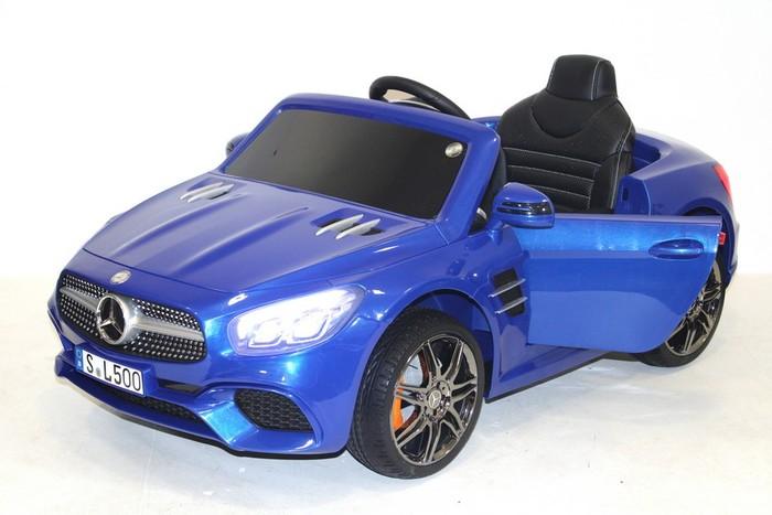 Детский автомобиль MERCEDES-BENZ SL 500 (Лицензионная модель) с дистанционным управлением