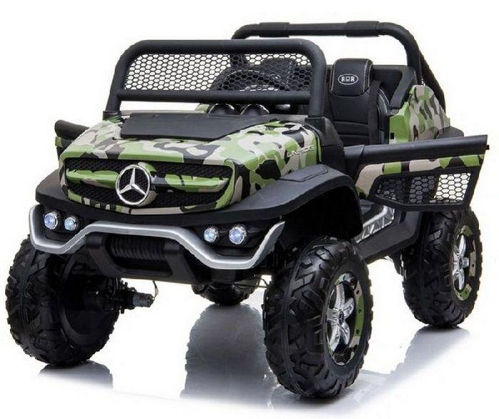 Детский двухместный полноприводный электромобиль Mercedes-Benz Unimog Concept P555BP 4WD