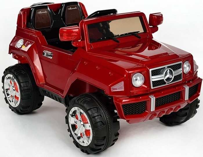Детский электромобиль джип Mers GL E 555 KX