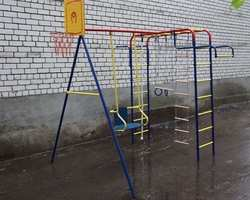 ДСК Пионер дачный Мини ТК2 уличный детский спортивный комплекс металлический