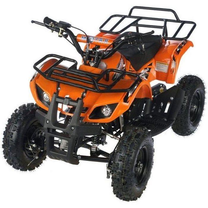 MOTAX ATV Х-16 Мини-Гризли квадроцикл детский бензиновый с электростартером и родительским пультом