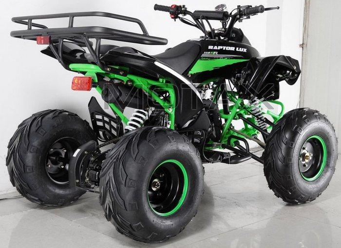 MOTAX ATV Raptor Super LUX 125 сс подростковый квадроцикл бензиновый